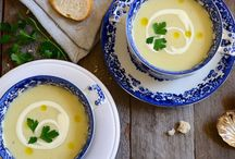 Soup Recipes / Recipes for hot and cold soups