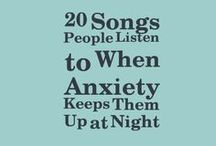 Songs against anxiety