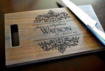 lazer cutting boards