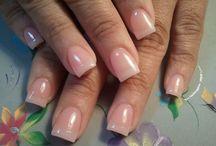 Natural look nails