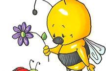 Mesevilág: Méhecskék (Dreamland: Bee) / clip-art