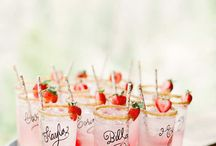 Wedding Reception Drinks / Toast to your wedding day!