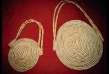 Australian aboriginal weaving