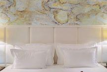 Bedroom // Natural Stone Wall Veneer