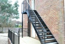 ourdoor staircase