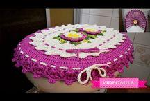 juegos de baños crochet