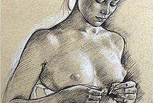 dessin femme sensuelle