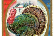 FREE Vintage Illustrations of Thanksgiving! / Gobble, Gobble! Thanksgiving is almost here, and there are some real Autumn treasures in the public domain. Enjoy this board full of vintage fall illustrations, Thanksgiving greetings, and more antique art you can use.