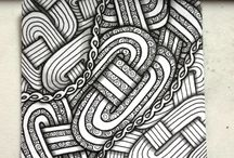 Lovely Zentangles by other people