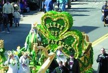 St Patricks Day Floats