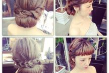 Hair style / 洋装