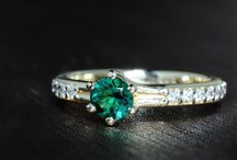Raza verde / Smaraldul, piatra iubirii împlinite