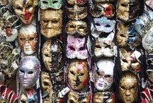 Masks g / by Karyn Wise