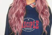 <3 Hair / wish i could have colored hair