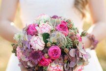 Brautsträuße rosa
