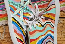 Hand Painted Sneakers / Hand Painted Sneakers