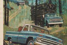 publicidades de autos, camionetas y camiones