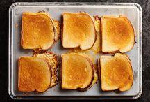 Ostesmørbrød, variert