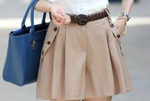 Khaki Skirt Inspiration / by Fitting Beautifully