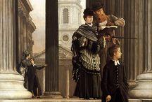Tissot, James Jacques-Joseph (1836-1902, French genre painter)
