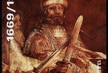 Rembrandt in 1969 / In 1969 werd in Amsterdam voor het eerst Rembrandts sterfjaar gevierd.