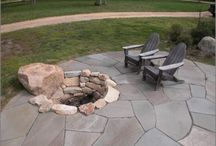 Outdoor Fireplaces, Fire Pits