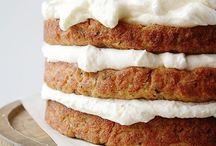 Banana cake and buttermilk