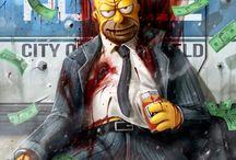 Žĺtý človiečikovia(Simpsons)