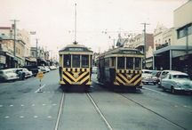 Geelong Trams / Trams operated in Geelong from 1912 until 1956. After 1934 the SEC ran the tram networks in Ballarat, Geelong and Bendigo. The BTM has two former Geelong trams in its fleet.