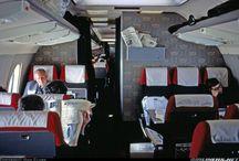Vintage Airliner Interiors
