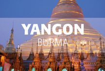 Yangon, Burma / Modern Yangon is most visitors' introduction to Burma, and in its welcoming people, glittering pagodas and fading colonial architecture the city provides a taste of the country's appeal.