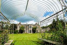 Miskin Manor Gardens / Spectacular, award-wining gardens and gardens of Miskin Manor Hotel.