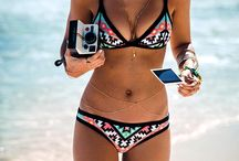 Beach Bunny / Bikinis and cover ups that make me weak in the knees.