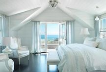 Bedrooms: white