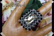 beading pierścionek