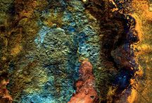 Patinas/rust and patterns