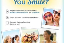 Share A Smile Sweepstakes / by Barbara Ryan