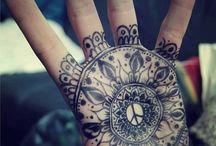 Mandale i tatuaże / mandale i tatuaże