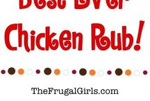 meat and poultry rubs