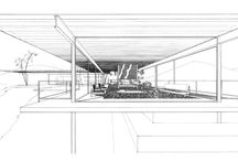 Architecture   Drawings / by Carrie Rose