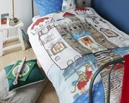 The best kids rooms / create with these fun and soft kids bedsheets a playful and relaxed bedroom.