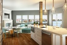 COCINAS - KITCHENS / Renders