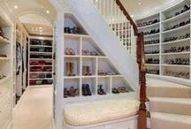 Walk in closets!