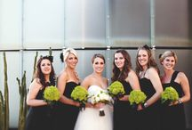 Green Wedding / Green wedding ceremony and reception ideas and details from real Clayton on the Park weddings. Modern Scottsdale wedding venue in the heart of Downtown Scottsdale. #wedding #color #green #details #ideas #planning #decor #modern