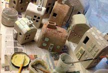 Ceramic- house