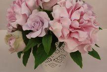 мои цветы из полимерной глины / Цветы из полимерной глины Deco