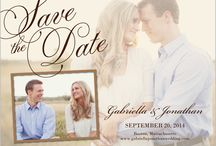 Save the Date Cards / Gorgeous designs for wedding stationery: save the date cards