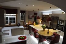 Lisa 2 Stools in an Award Winning Kitchen / This Kitchen has been submitted for an Award as a Stylish Kitchen Design. We are proud that our two Lisa 2 Barstools feature prominently in the design.