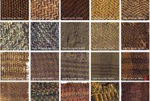 Vzorované textilie