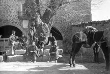 Hoz de la Vieja, La (Teruel), Spain / Tres cuartas partes de mi sangre vienen de este pueblecico de Aragón, de donde casi todo el mundo era pariente mío.